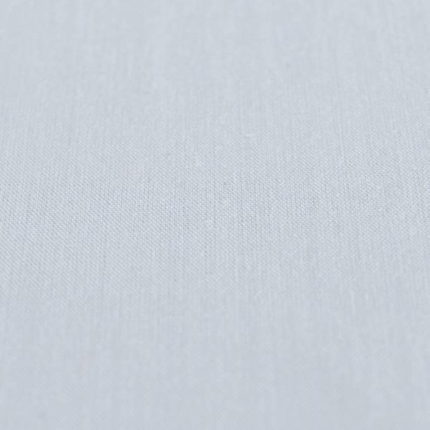 Snoozing - Laken - Eenpersoons - Percale katoen - 150x260 - Hemel