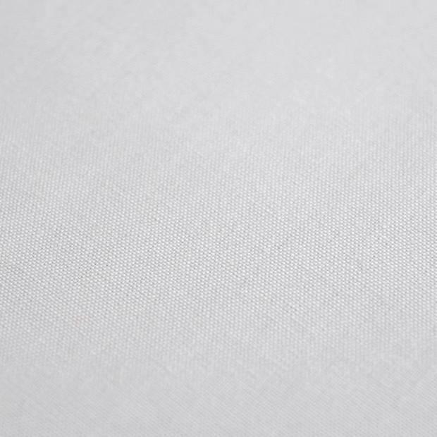 Snoozing - Laken - Eenpersoons - Percale katoen - 150x260 - Grijs