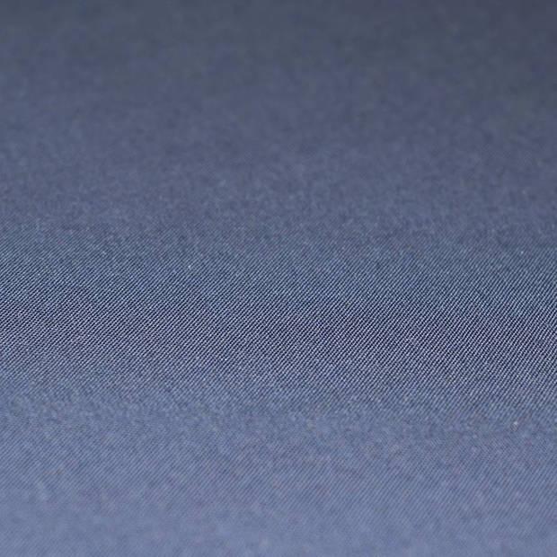 Snoozing - Laken - Eenpersoons - Percale katoen - 150x260 - Navy