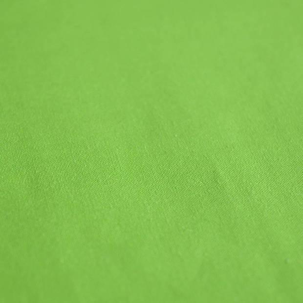 Snoozing - Laken - Lits-jumeaux - Percale katoen - 280x300 - Lime