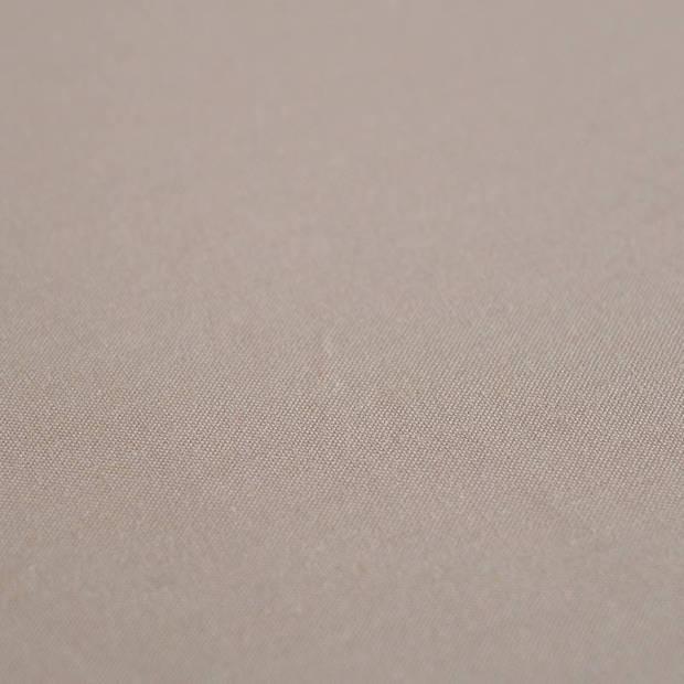 Snoozing - Katoen-satijn - Laken - Eenpersoons - 150x260 - Bruin