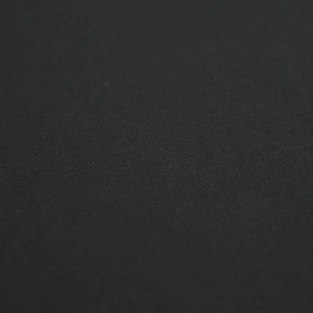 Snoozing - Katoen-satijn - Laken - Eenpersoons - 200x260 - Zwart