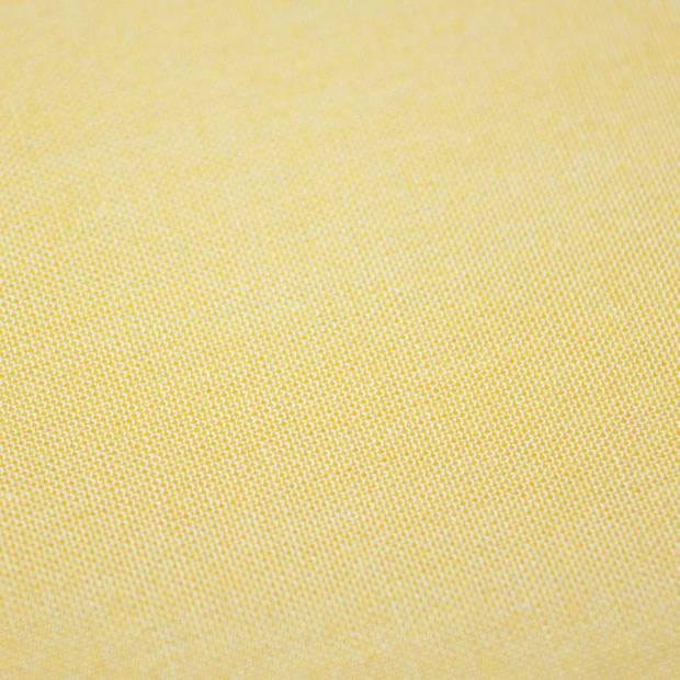 Snoozing - Katoen-satijn - Laken - Eenpersoons - 200x260 - Geel