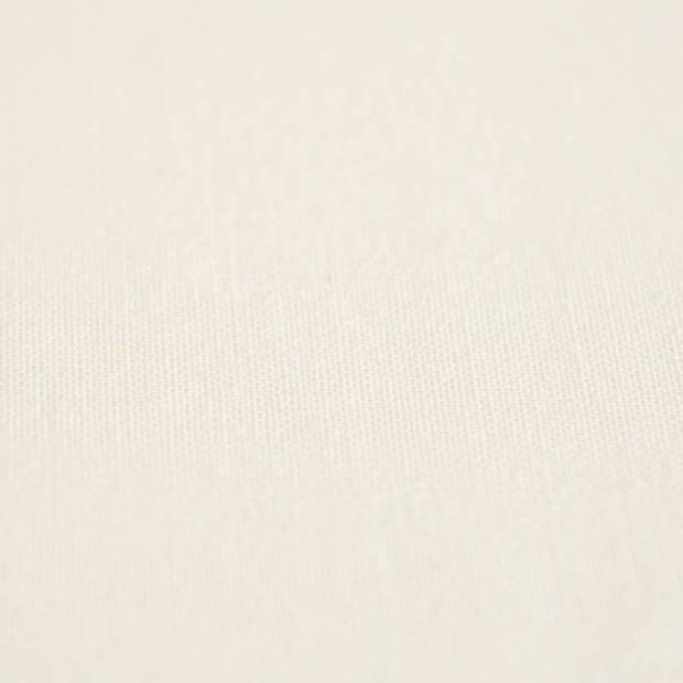Snoozing - Katoen-satijn - Laken - Eenpersoons - 240x260 - Wit