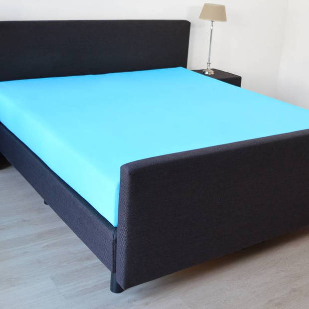 Snoozing Jersey Stretch - Hoeslaken - 160/180x200/220/210 - Turquoise