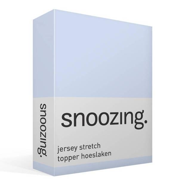 Snoozing Stretch - Topper - Hoeslaken - 90/100x200/220/210 - Hemel