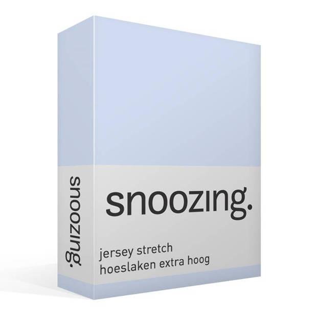 Snoozing Stretch - Hoeslaken - Extra Hoog - 70/80x200/220/210 - Hemel