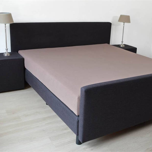 Snoozing Stretch - Hoeslaken - Extra Hoog - 140/150x200/220/210 - Taupe