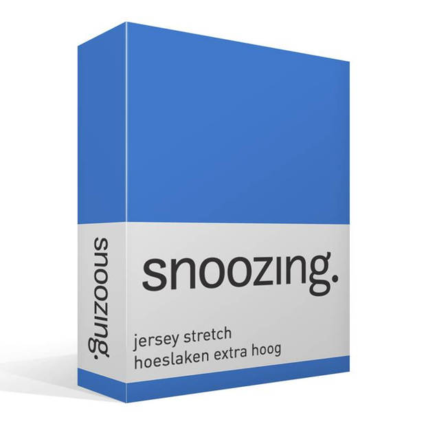 Snoozing Stretch - Hoeslaken - Extra Hoog - 70/80x200/220/210 - Meermin