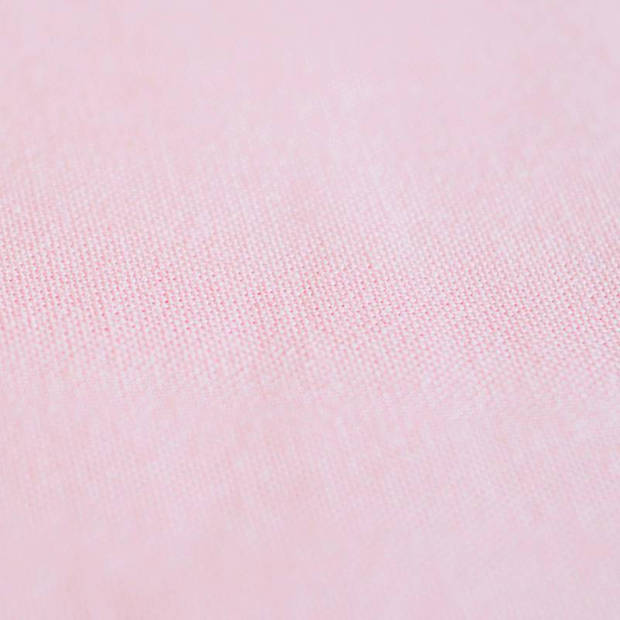 Snoozing - Katoen-satijn - Laken - Eenpersoons - 240x260 - Roze