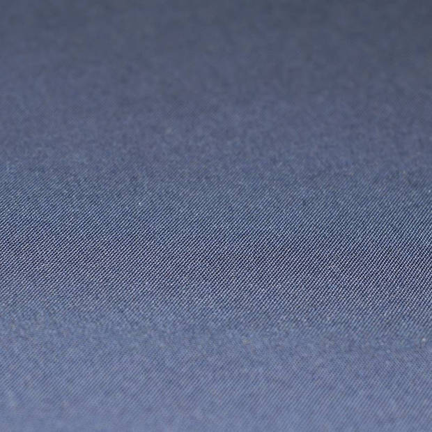 Snoozing - Katoen-satijn - Laken - Eenpersoons - 150x260 - Navy