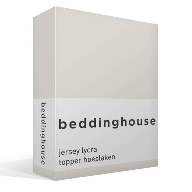 Beddinghouse jersey lycra topper hoeslaken - 2-persoons (120x200/220 cm)