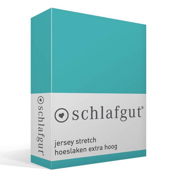 Schlafgut Jersey stretch hoeslaken extra hoog - 1-persoons (90/100x190/220 cm)