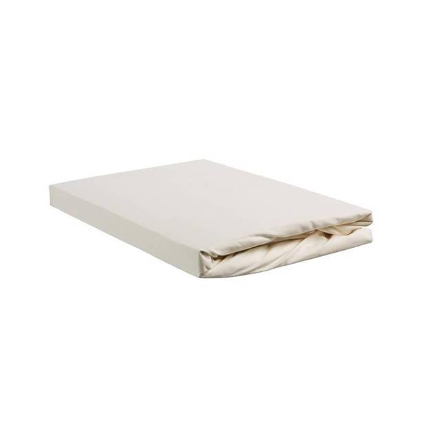 Beddinghouse percale katoen split-topper hoeslaken - 100% percale katoen - 2-persoons (140x200 cm) - Off white