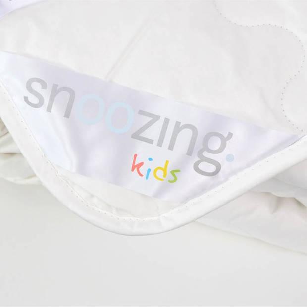 Snoozing Kreta - Katoen - Zomer kinderdekbed - Junior - 120x150 cm - Wit