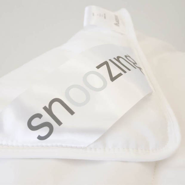 Snoozing Kreta - Katoen - Zomerdekbed - Eenpersoons - 140x220 cm - Wit