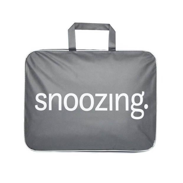 Snoozing Lienz - Synthetisch - Winterdekbed - Eenpersoons - 140x220 cm - Wit