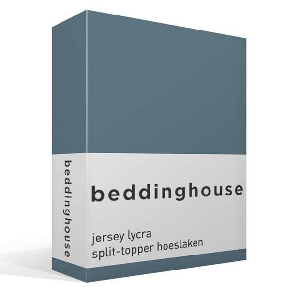 Beddinghouse jersey lycra split-topper hoeslaken - Lits-jumeaux (180x200/220 cm)