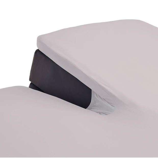 Beddinghouse jersey split-topper hoeslaken - 100% gebreide jersey katoen - 2-persoons (140x200/220 cm) - Soft Pink