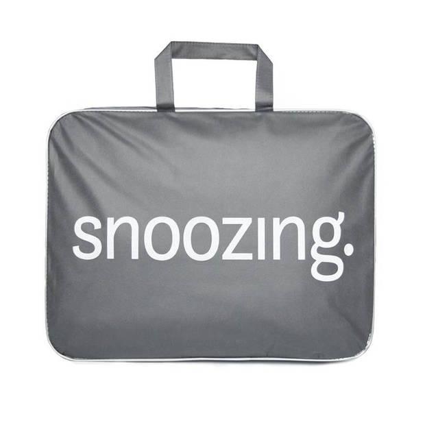 Snoozing Rhodos - Katoen - Dekbed - Tweepersoons - 200x200 cm - Wit