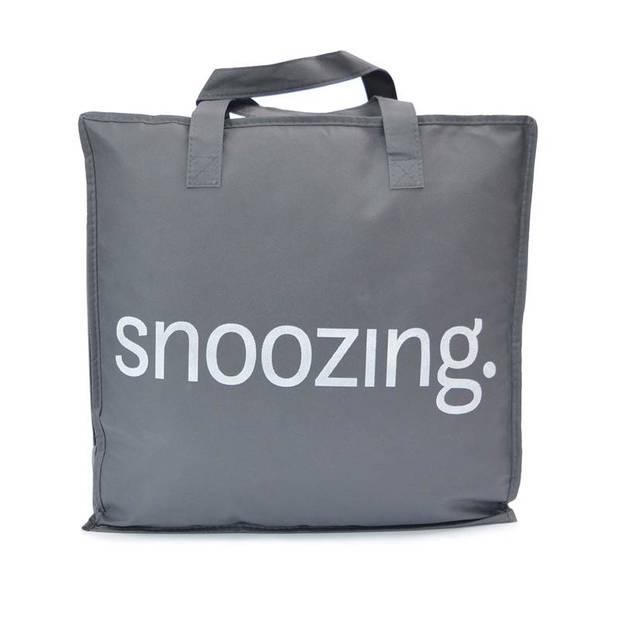 Snoozing Rhodos - Katoen - Kinderdekbed - Junior - 120x150 cm - Wit