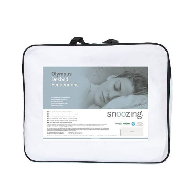 Snoozing Olympus - Dons - Dekbed - Eenpersoons - 140x200 cm - Wit