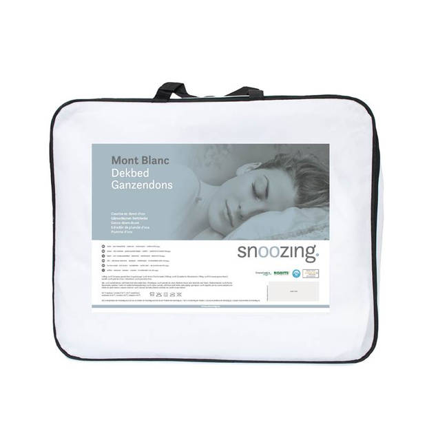Snoozing Mont Blanc - Dons - Dekbed - Tweepersoons - 200x220 cm - Wit