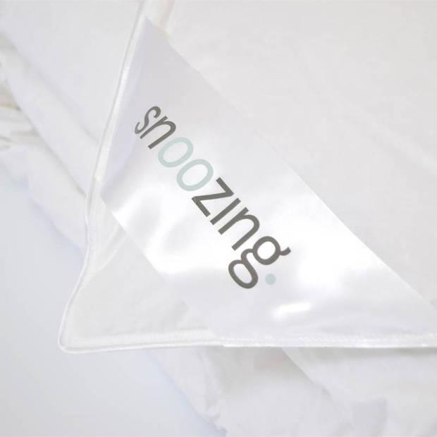Snoozing Mont Blanc - Dons - Dekbed - Eenpersoons - 140x200 cm - Wit