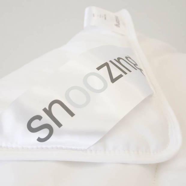 Snoozing Bern Bamboo - Zomerdekbed - Eenpersoons - 140x200 cm - Wit