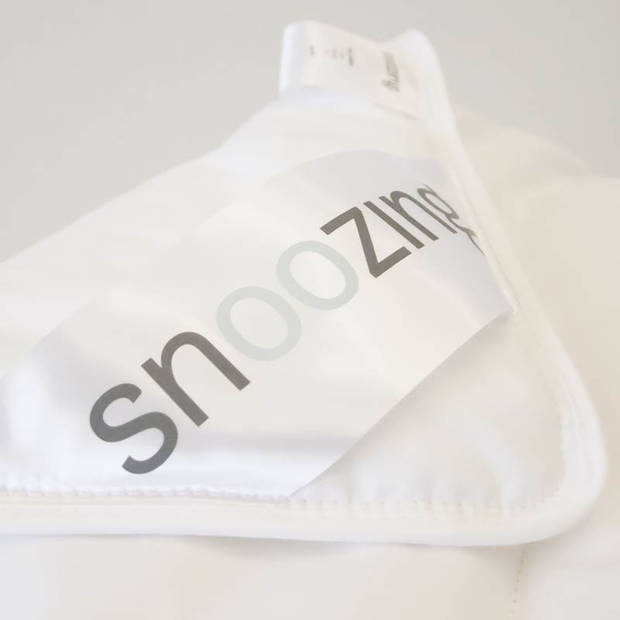 Snoozing Bern Bamboo - Zomerdekbed - Tweepersoons - 200x200 cm - Wit