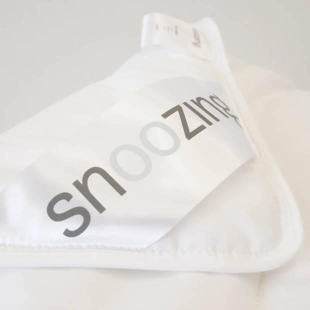 Snoozing Innsbruck - Zijde - Zomerdekbed - Tweepersoons - 200x200 cm - Wit