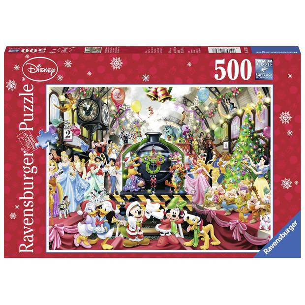 Ravensburger puzzel Disney kerstavond - 500 stukjes