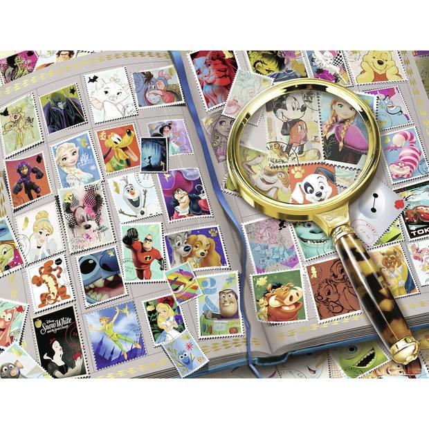 Ravensburger puzzel mijn mooiste postzegels - 2000 stukjes