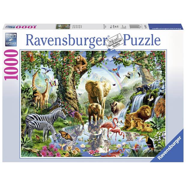 Ravensburger puzzel avonturen in de jungle - 1000 stukjes