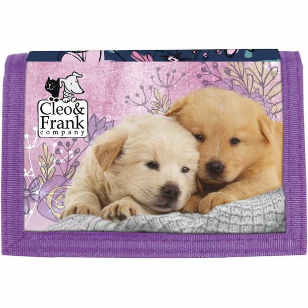 Puppy Friends - Portemonnee - 12 x 8 cm - Multi