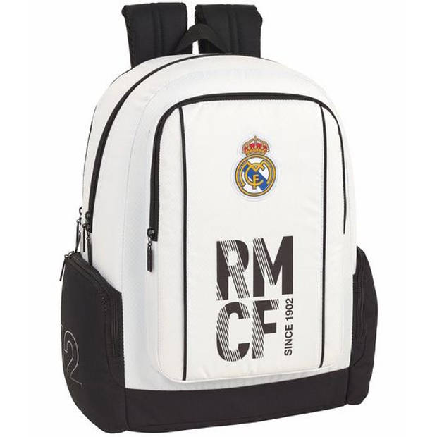 "Real Madrid - Rugzak - 43 cm - Laptop 15,6"" - wit"