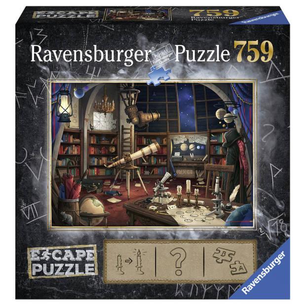 Ravensburger puzzel Escape 1 ruimte observatorium - 759 stukjes