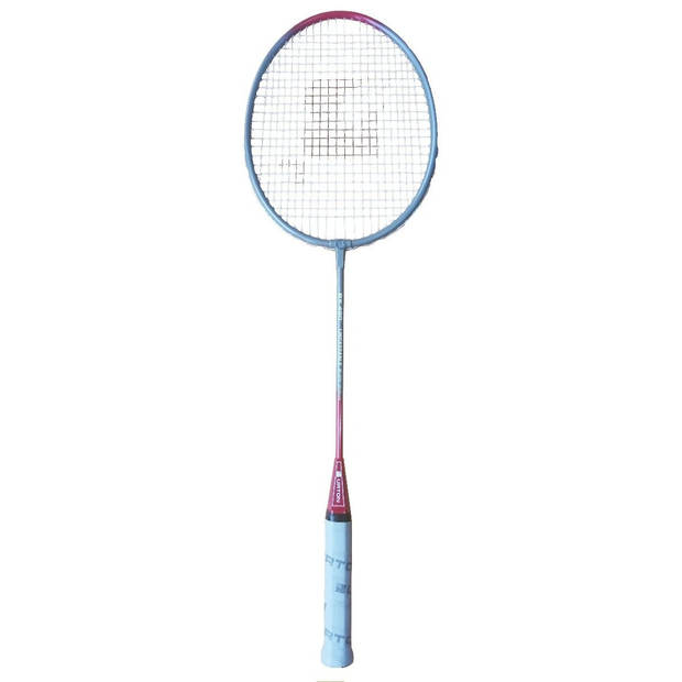 Burton badmintonracket Kanikapot grijs/rood inclusief hoes