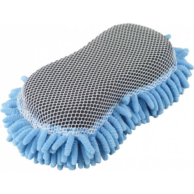 Protecton insectenspons 24,5 x 10,5 x 5 cm microvezel grijs/blauw