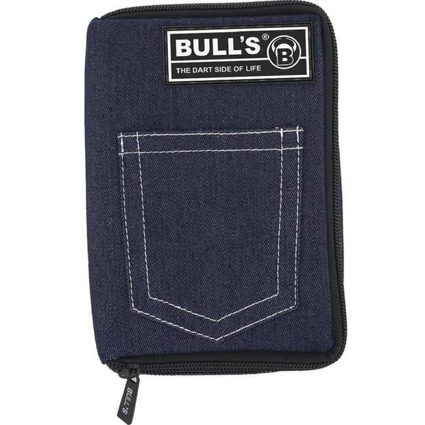 Bull's dartetui TP broekzak donkerblauw 18 x 12 x 5 cm