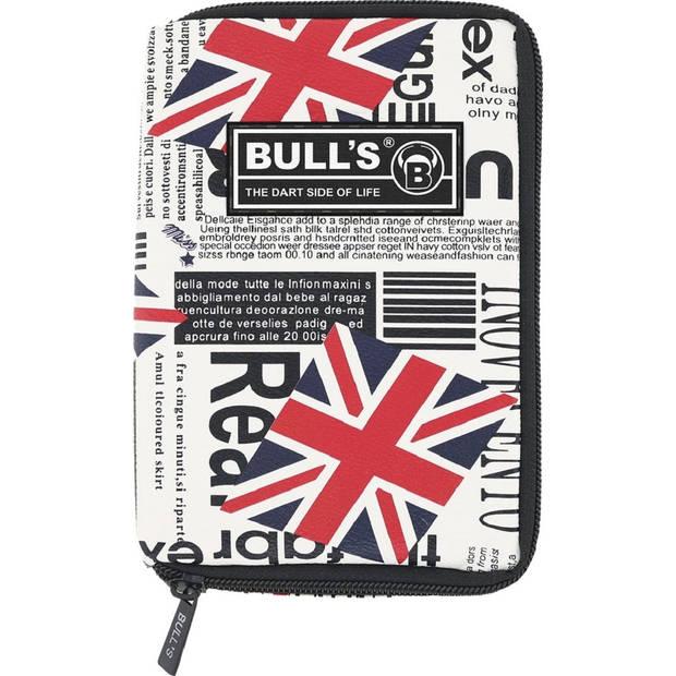 Bull's dartetui TP United Kingdom rood/blauw 18 x 12 x 5 cm
