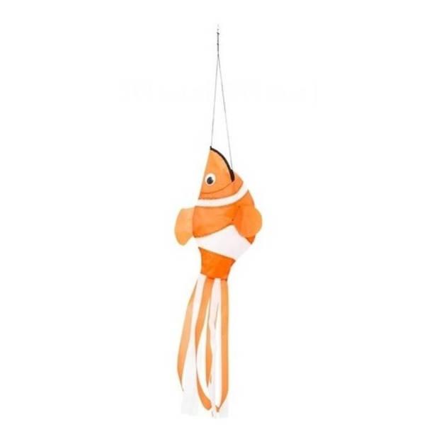 Invento windsock Clownfish 98 cm oranje/wit