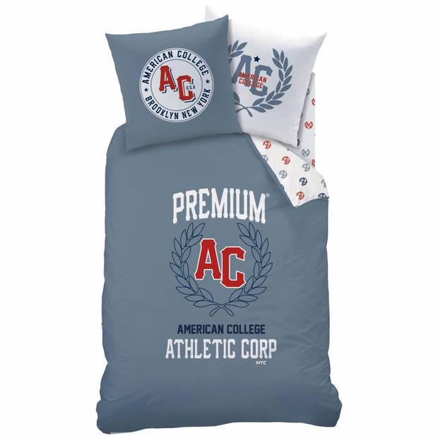 American College Athletic - Dekbedovertrek - Eenpersoons - 140 x 200 cm - Multi