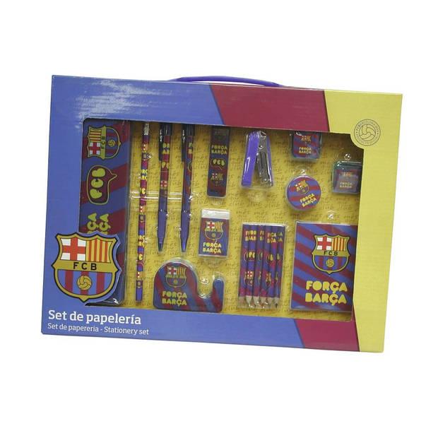 FC Barcelona - Schrijfset - 18 stuks - Multi