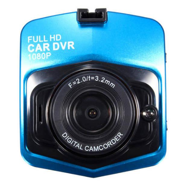 Vehicle Blackbox DVR1080P - Blauw