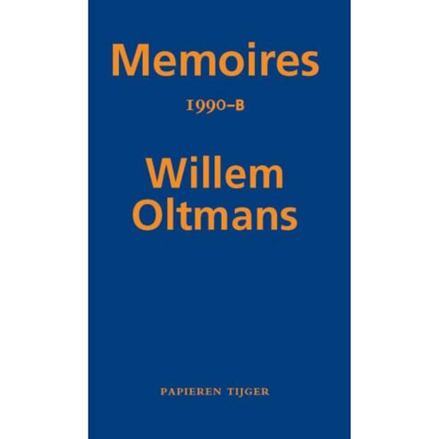 Memoires 1990-B - Memoires Willem Oltmans