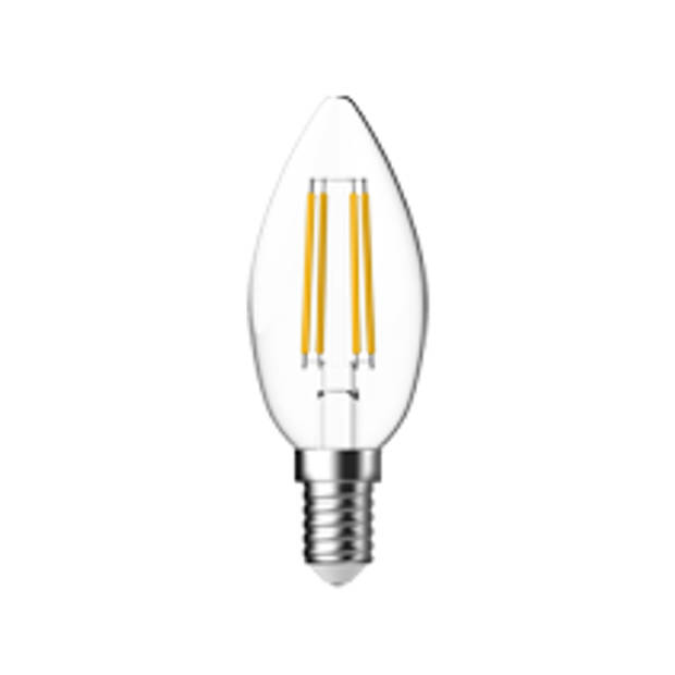 Led Kaars C35 40we14 Clear Dimmable