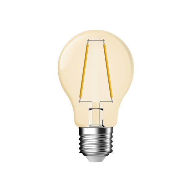 Led Bulb A60 1,2we27 Gold Clear