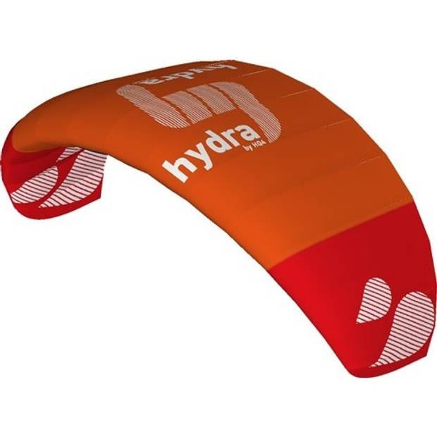 HQ Kites drielijnsmatrasvlieger Hydra II 300 cm oranje/rood