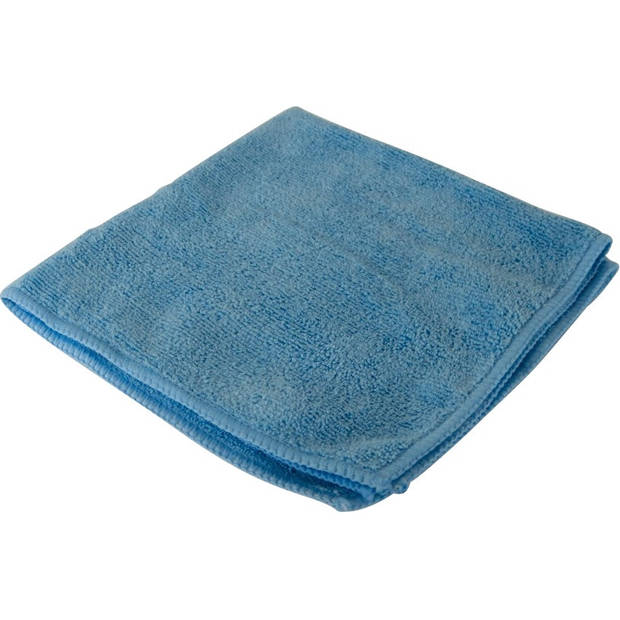 Protecton microvezeldoek 40 x 40 cm microvezel blauw